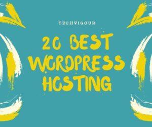 20 best wordpress hosting services for 2020