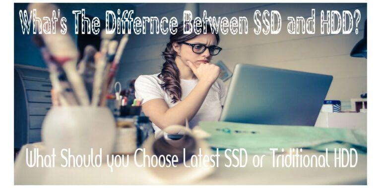 DIFFERENCE BETWEEN SSD AND HDD (SSDS VS. HDDS)