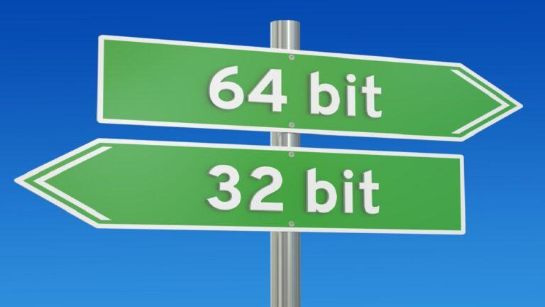 Difference Between 32bit And 64bit (X86 Vs X64)
