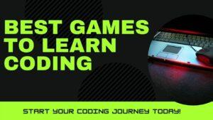Best Games To Learn Coding