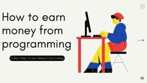 How to earn money from programming